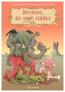 Herman, de Lichtrode Ridder, by Tom Bouden