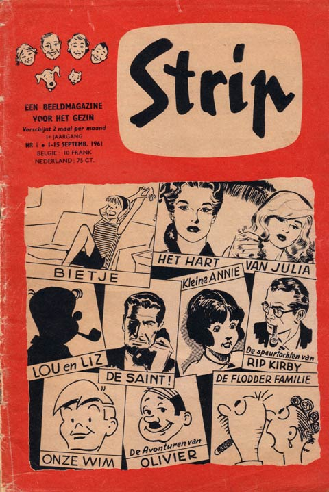Cover of the magazine Strip