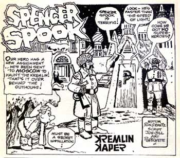 Spencer Spook, by Pat Boyette