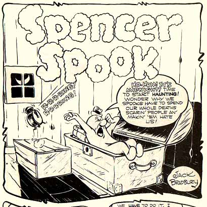 Spencer Spook, by Jack Bradbury