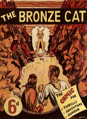 The Bronze Cat, by Royce Bradford (1944)