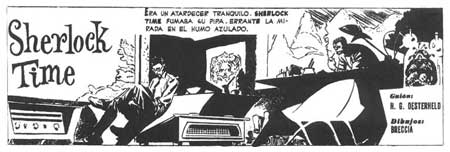 Sherlock Time, by Alberto Breccia