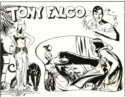 Tony Falco, by Andrea Bresciani