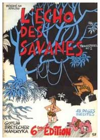 L'Echo des Savanes, by Claire Bretécher