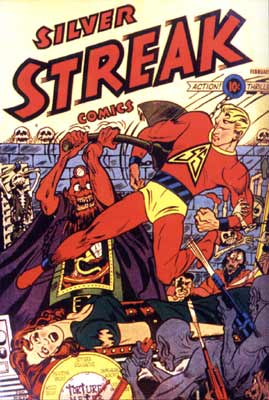 Silver Streak Comics, by Dick Briefer (1940)