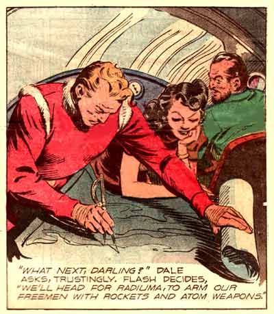 Flash Gordon by Austin Briggs (1945)