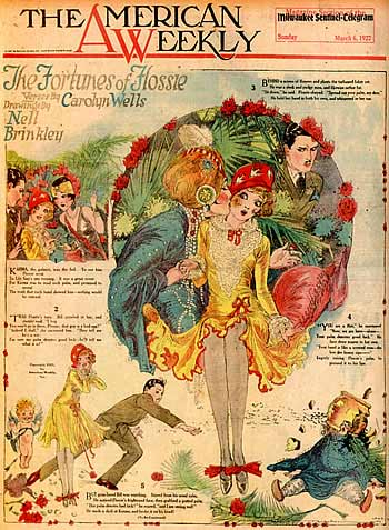The American Weekly, by Nell Brinkley