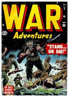 War Adventures by Sol Brodsky