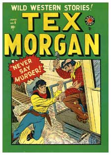 Tex Morgan by Sol Brodsky