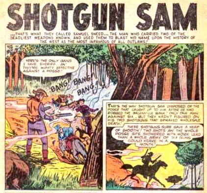 Shotgun Sam by Sol Brodsky