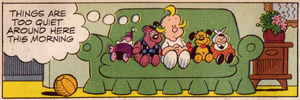 Hi and Lois, by Dik Browne (1989)