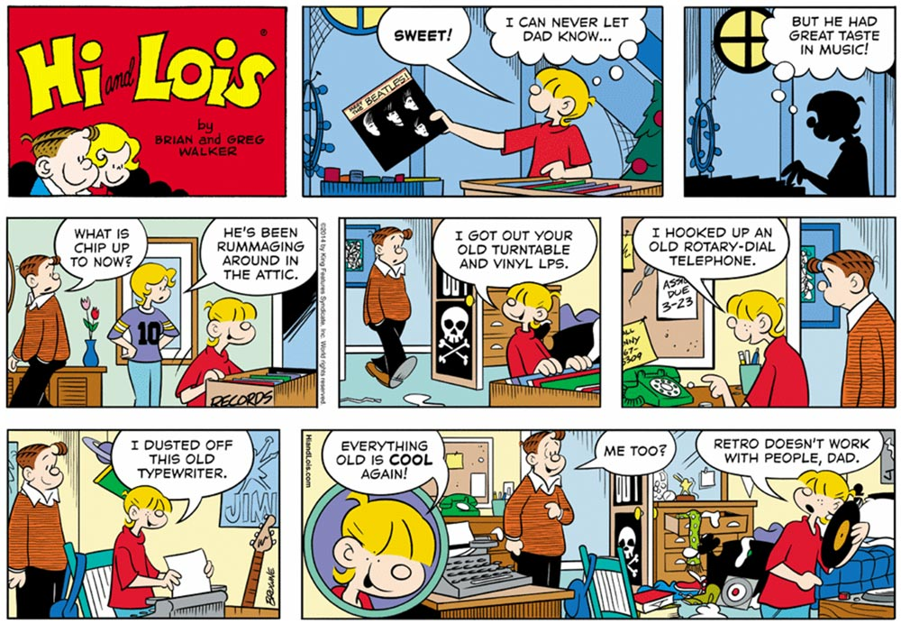 Hi and Lois by Chance Browne