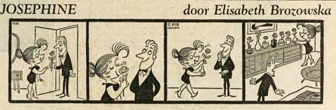 Geraldine (Josephine in Holland) in Utrechts Nieuwsblad (24/1/1967), by Elizabeth Brozowska