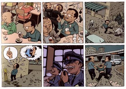 comic art by Ivan Brun (2006)