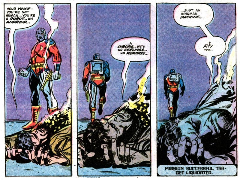 Deathlok by Rich Buckler