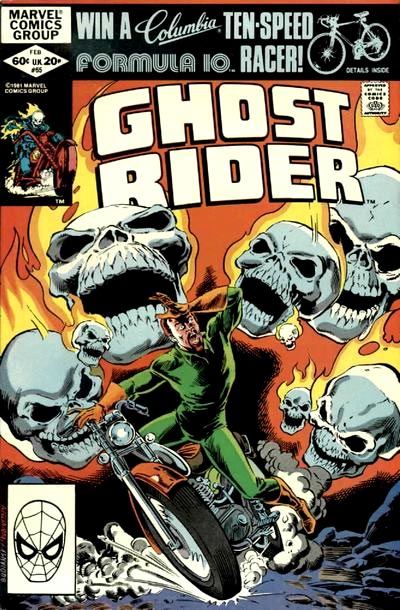 Ghost Rider by Bob Budiansky