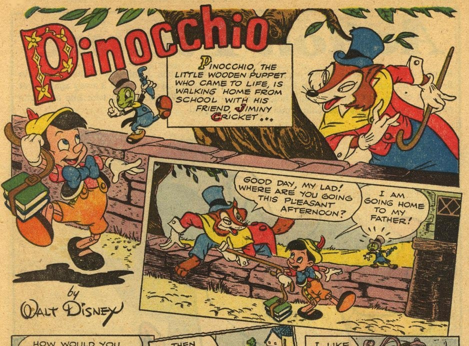 Pinocchio, by Carl Buettner