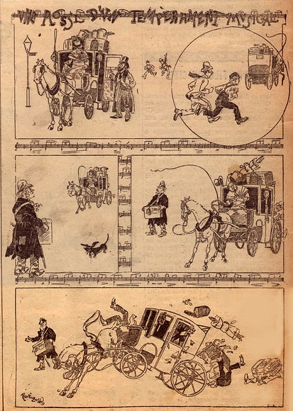 comic from Le National Illustré, by Rene Bull (1895)