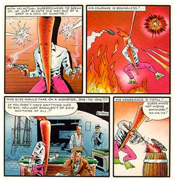 Flaming Carrot, by Bob Burden