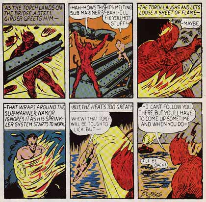 Human Torch (Marvel Mystery Comics, 1940)