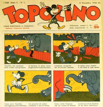 Topolino, by Buriko