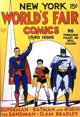 World's Fair Comics cover, by Jack Burnley (1940)