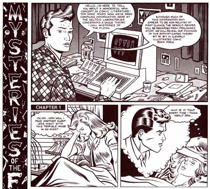 Mysteries of the Flesh, by Charles Burns
