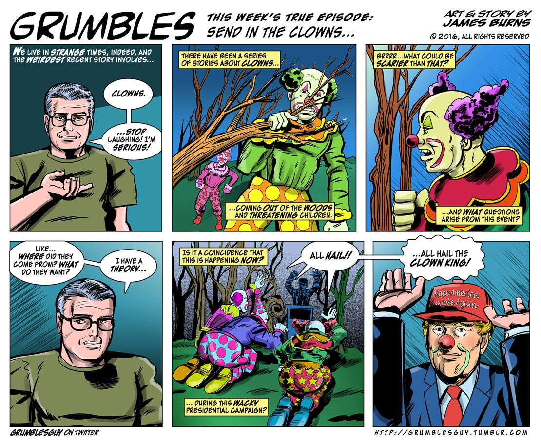 Grumbles, by James Burns