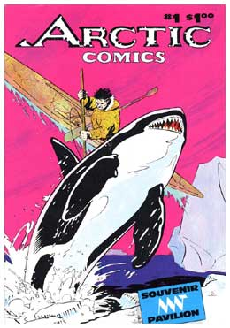 Arctic Comics, by Nick Burns