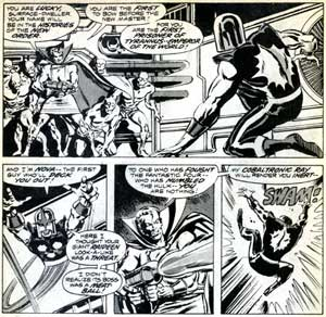 Defenders, by Sal Buscema