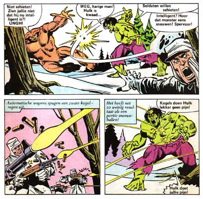 Incredible Hulk, by Sal Buscema (1982)