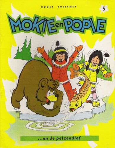 Cover for Moky et Poupy, by Roger Bussemey