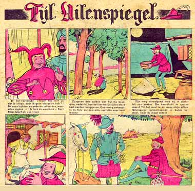 Tijl Uilenspiegel, by Buth