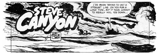 Steve Canyon by Milton Caniff, 1948