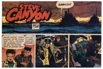 Steve Canyon, by Milton Caniff