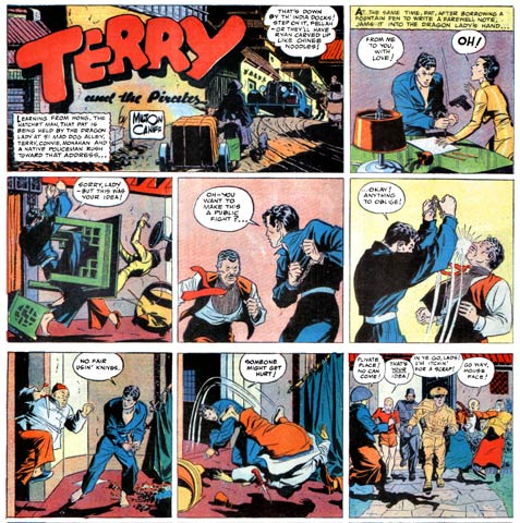 Terry and the Pirates by Miton Caniff