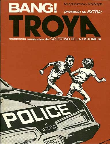 Troya cover by Canovas