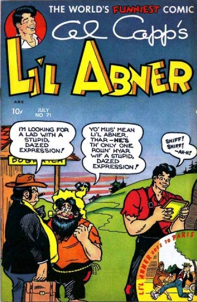 Li'l Abner comic book