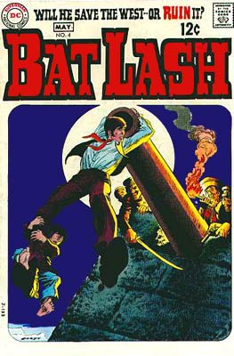 cover for Bat Lash, by Nick Cardy