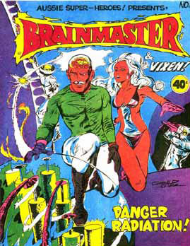 Brainmaster and Vixen, by Gerald Carr 1977
