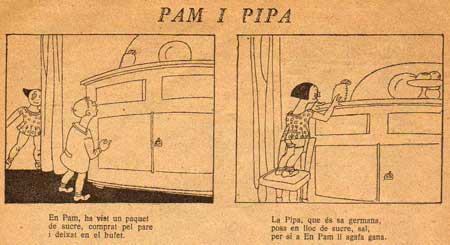 Pam i Pipa, by Valenti Castanys (1926)