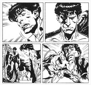 Dylan Dog, by Claudio Castellini