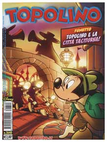 Topolino, by Casty