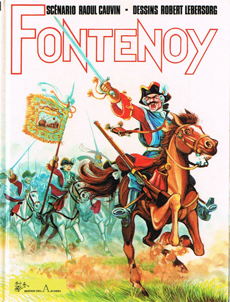 Fontenoy by Cauvin and Lebersorg