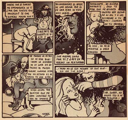 comic from Carajillo by Ceesepe