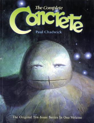 Concrete, by Paul Chadwick