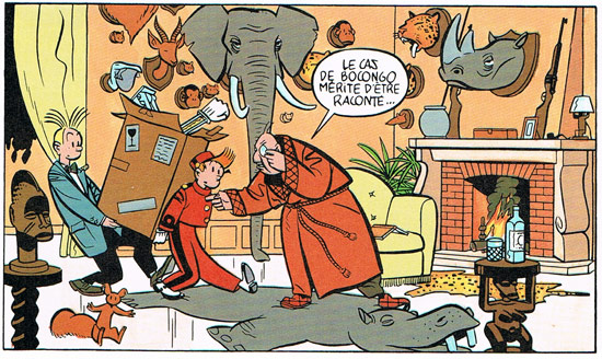 Spirou by Yves Chaland