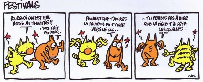 Maurice et Patapon, by Charb