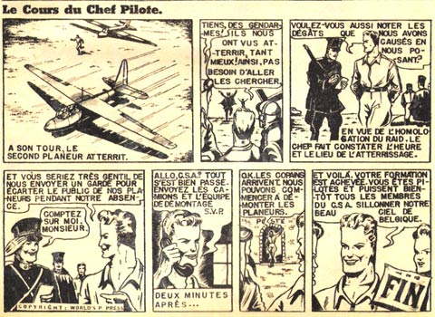 Le Cours du Chef Pilote by Jean-Michel Charlier