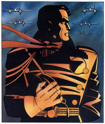 Blackhawk, by howard Chaykin